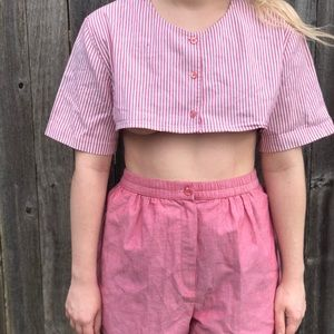 Vintage Two Piece Set